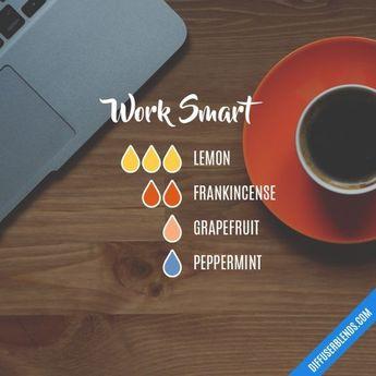 Work Smart - Essential Oil Diffuser Blend