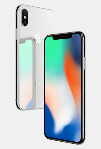 apple iPhone X unlocks with facial recognition and charges wirelessly