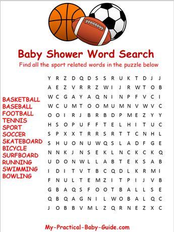 Sport Baby Shower Theme Ideas