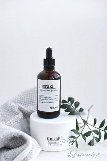 MERAKI organic beauty products #SkinCareProductsOnABudget