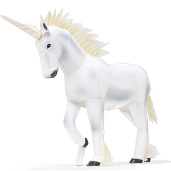 Unicorn,Animals,Paper Craft,Mythical Beasts,horse,white horse,myths,mysterious,Legendary Creature