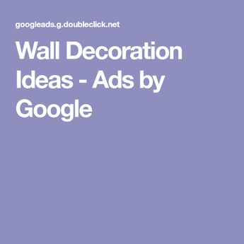 Wall Decoration Ideas - Ads by Google
