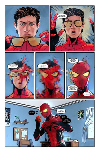 Marvel Perfect Panels on