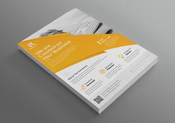 Alexander Modern Professional Business Flyer Template - Graphic Templates
