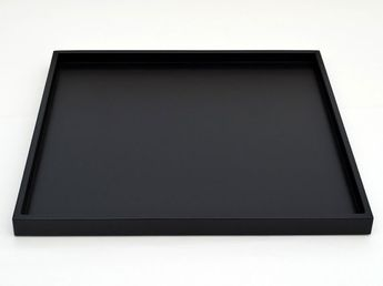 30 X Extra Large Square Ottoman Tray Shallow Modern Coffee Table Oversized