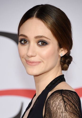 Emmy Rossum Does Vampire Chic At The CFDAs