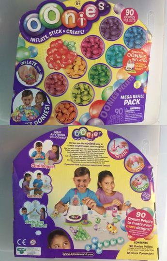 f234dfc62 Craft Kits 116655: Oonies S1 Mega Refill Pack - 90 Pellets, 9 Colors New