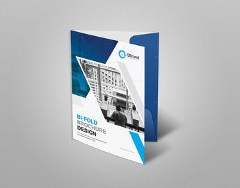 Stylish Presentation Folder Template 002882 6