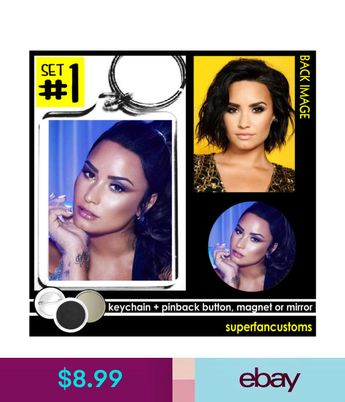 Demi Lovato Keychain Button Or Magnet Mirror Pinback Sorry Not Pins 1241 Ebay