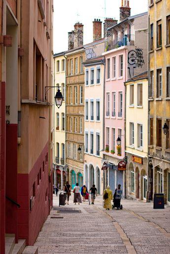 Lyon - Montée de la Grande Côte -  Les pentes de la Croix Rousse