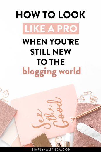 Beginner Blogger Tips: How To Look Like A Pro When You're Still New To The Blogging World