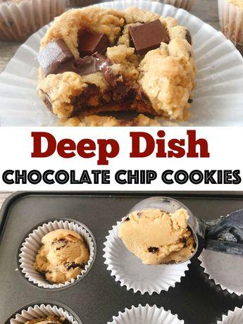 Disneyland Deep Dish Chocolate Chip Cookies