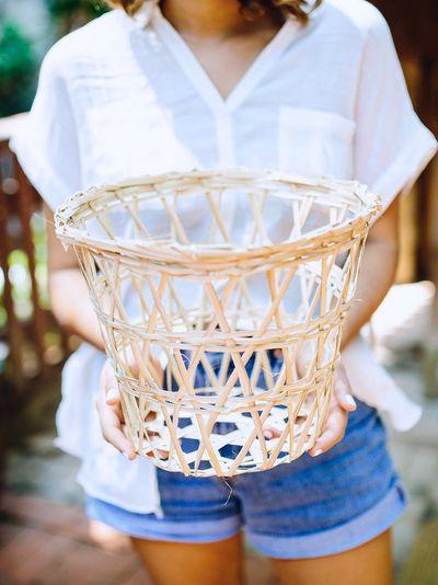 Basket making in Tha