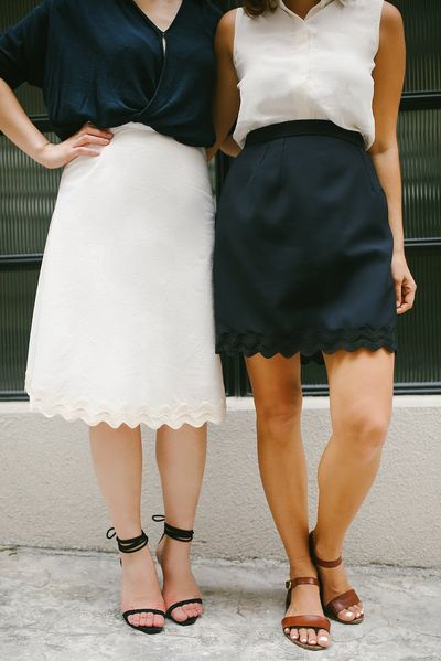 DIY: scalloped hemli