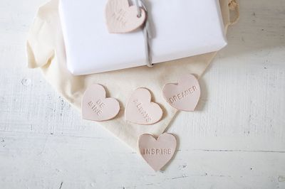 Leather hearts inspi