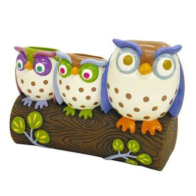 Allure Owls Toothbrush Holder