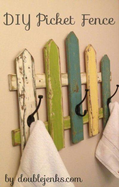 Rustic Towel Hook