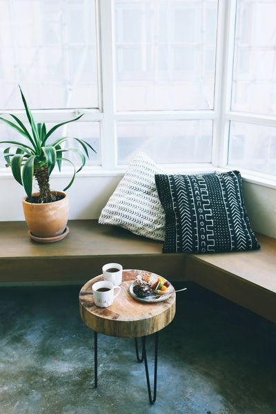 DIY Wood Slice Table