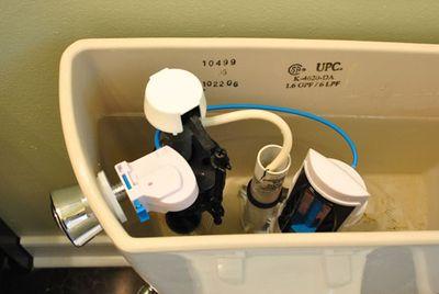 Dual Water Flush