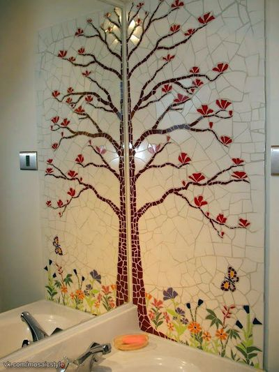 Floral Art Wall