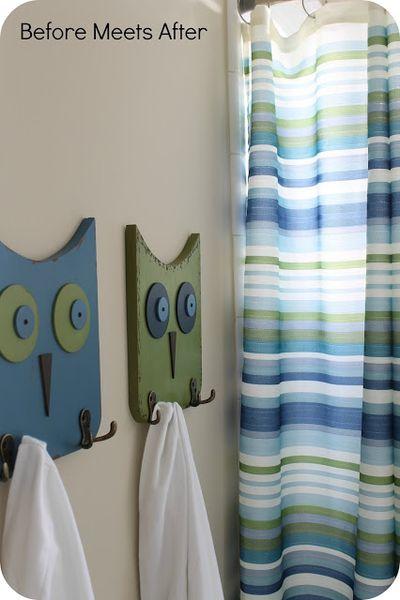 Owl Triple Wall Hook
