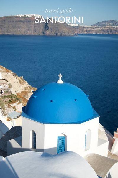 Santorini Travel Gui
