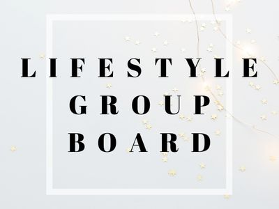 Lifestyle Bloggers Group Board