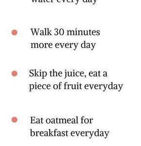 Helpful health tips