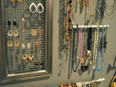 Jewelry Wall