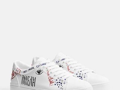Custom Sneakers NIKE Air Force 1 CDG play White, Comme Des