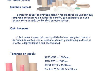 Stc Suministros De Tubos De Carton Tubosdecarton En Pinterest