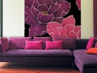 Tatjana Mury (tatjanamury) on Pinterest - wohnzimmer lila braun