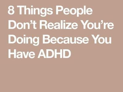 ADHD informs