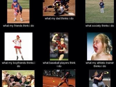 Softball funny