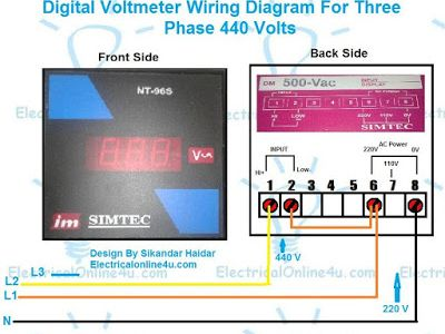 Sikandar Haidar (sikandarhaidar) on Pinterest on 440 volt power, motor wiring diagram, diesel engine wiring diagram, single phase wiring diagram, 440 volt safety,