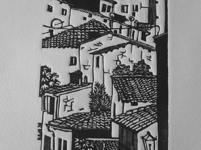 Lino Printing inspiration