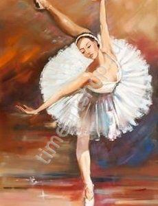 Живопись балерины