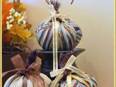 Pumpkins ~ DIY Decorating Ideas and Projects