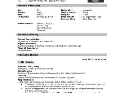 PRAVEEN (cleverpv) on Pinterest - resume sample writing for fresh graduate pdf