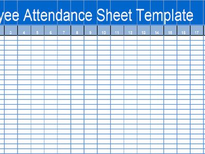 Devendra Pratheek (devendrapratheek) on Pinterest - employee attendance sheet template free
