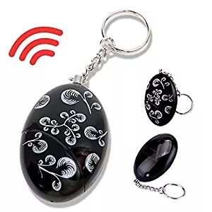 XINHONGJING Emergency Self Defense Keychain-120db Survival Whistle Batteries Included Personal Portable Safety Security Alarms 2pcs Electronic Device Security Alarm Keychain Safesound Personal Alarm Keychain