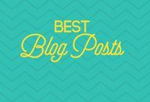 Best Blog Posts {Group Board}
