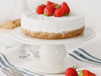 Backen: Cheesecake / Käsekuchen