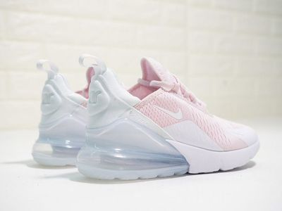 Nike Air Max 270 Light PinkPure White | Nike air shoes