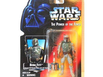 Star Wars 1995 Potf Vintage Style Lando Calrissian Administrator ~ Blasters