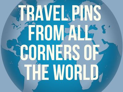 Travel Pins from All Corners of the World