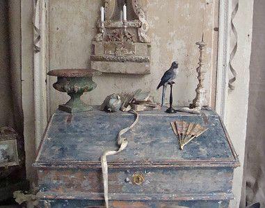 Furniture embellished