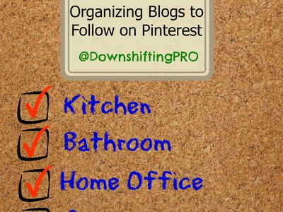 ORGANIZING Blogs to Follow