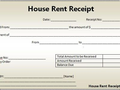 House Rent Receipt Sample Arvind Matwa Amatwa On Pinterest
