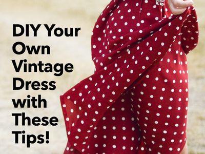 DIY Dresses and Skirts
